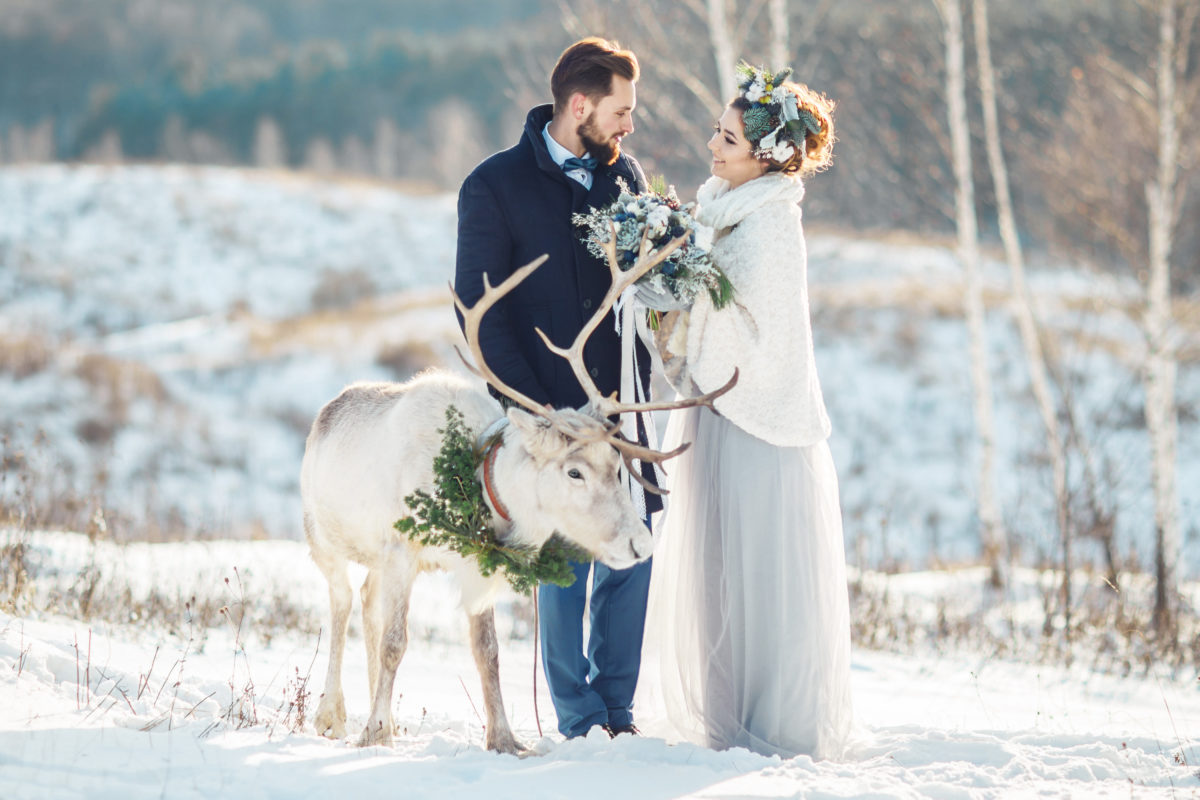 im Winter zu heiraten